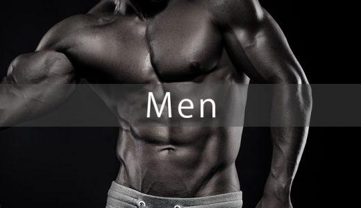 【モニター写真】筋肉が付きづらい男性でもしっかりと脂肪を落としながら、筋肉をつけることができます。